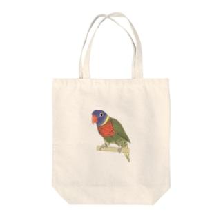 色合いが綺麗なゴシキセイガイインコちゃん【まめるりはことり】 Tote bags