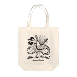 週末釣り人の願い♡ Tote bags