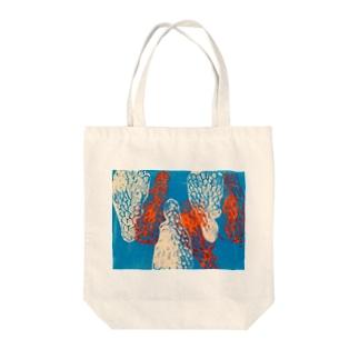 まじわり Tote bags