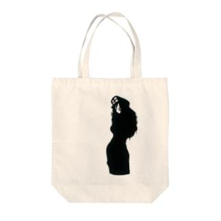 AA-Bgirl Tote bags