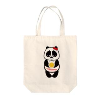 パンダちゃん Tote bags