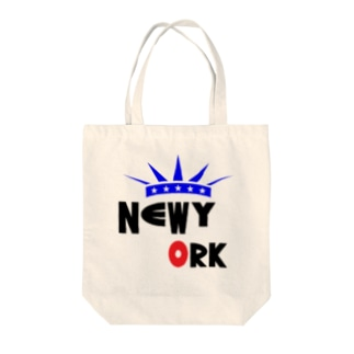 NEW YORK Tote bags