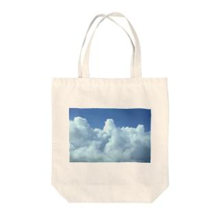 入道雲3 Tote bags