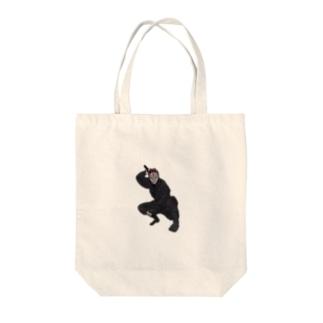 忍者・キツネ面 Tote bags