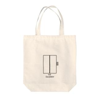 エレベーター Tote bags