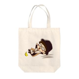 カーテンマンJr.(ズコー)のトートバッグ Tote bags