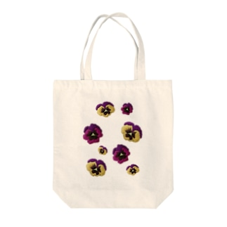 sunny_spotのお花畑(パンジー) Tote bags