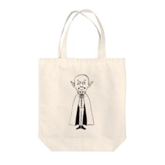 ドラキュラ伯爵 Tote bags