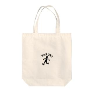 YARUKIくん Tote bags