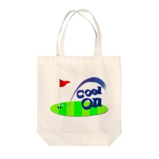クールオン Tote bags
