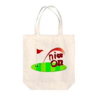 ナイスオン Tote bags