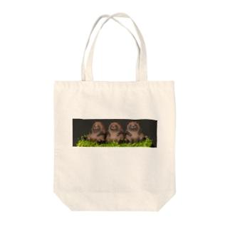 太っちょタヌキくん Tote bags