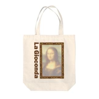 ことり屋のモナリザ Tote bags