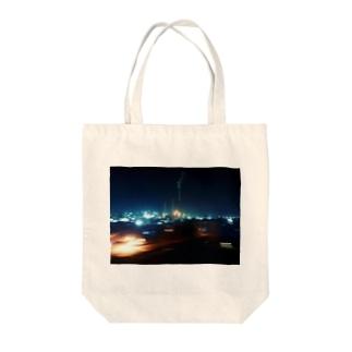 旅 山口県-夜 Tote bags