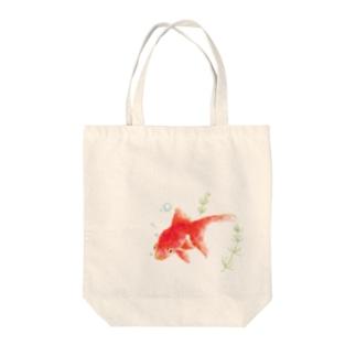 琉金の日常 Tote bags