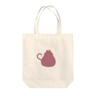 猫は王様 Tote bags