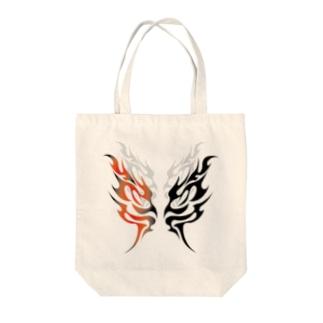 舞・炎 Tote bags