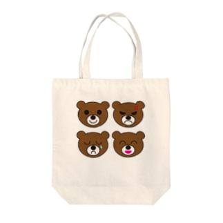 喜怒哀楽 Tote bags