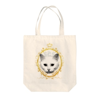 SCS_001 猫グラフィック Tote bags