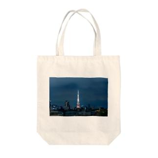 スカイツリー Tote bags