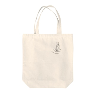 オーバーオール子:TSUREDURE AGURA Tote bags