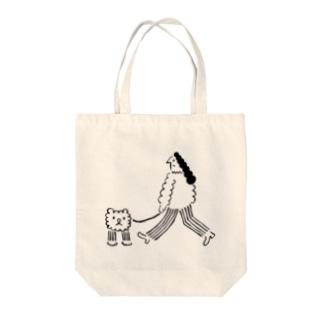 ペアデサンポ Tote bags