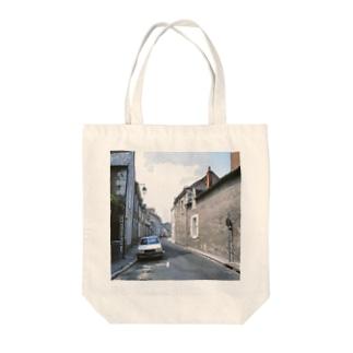 FUCHSGOLDのフランス:ブロワの風景 France: view of Blois Tote bags
