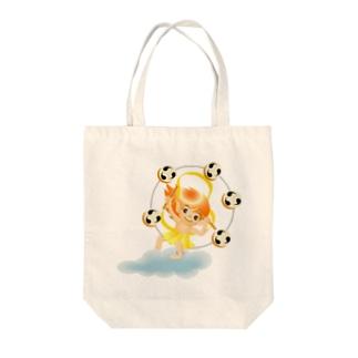 カミナリ君 Tote bags