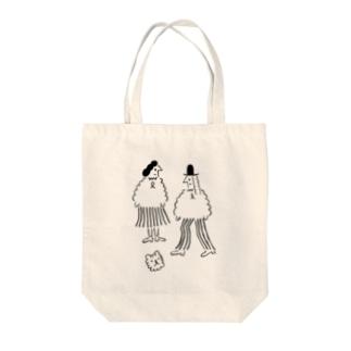 オトシモノ? Tote bags