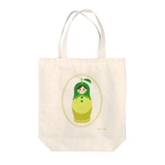 [九州・大分]かぼすマトリョーシカさん Tote bags
