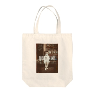 【social distance】 Tote bags