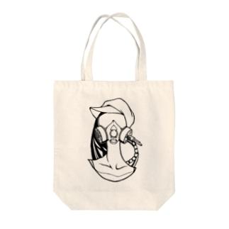 AA-G-MASK Tote bags