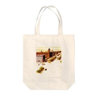 満州 Tote bags