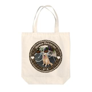 ゴールデンレトリバー キース Tote bags