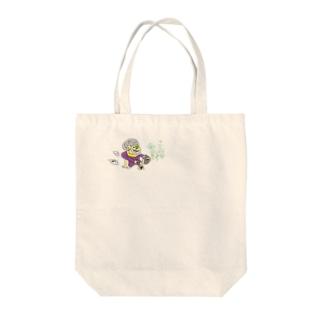 十三代目 面三郎 Tote bags