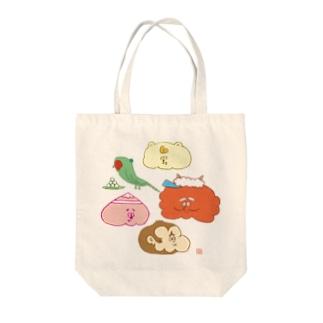 桃物語 Tote bags