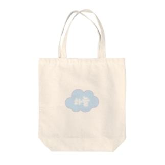 하늘(空) Tote bags