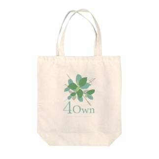 4Own ロゴ Tote bags