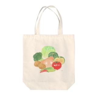 野菜屋さん Tote bags