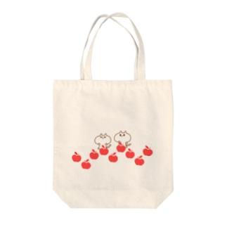 さてまろ(りんご) Tote bags