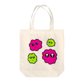 モアモアト~ト Tote bags
