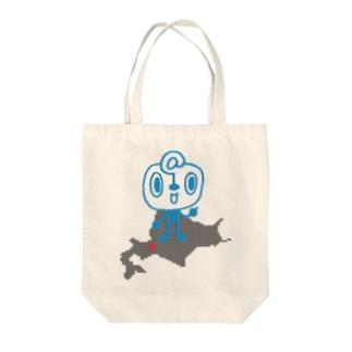 道産子くん Tote bags