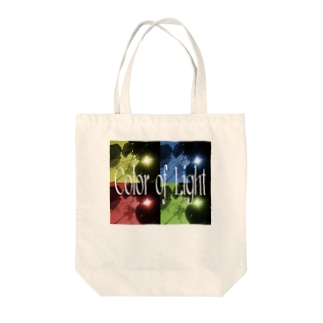 Color of Light Tote bags