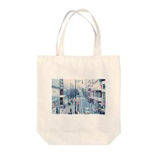 niigata  city Tote bags