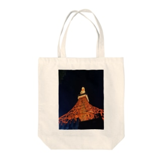 challenge the Tokyotower Tote bags