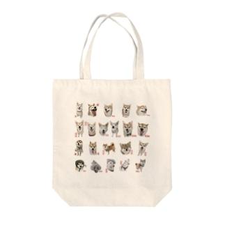 柴って描いてコレクション01 Tote bags