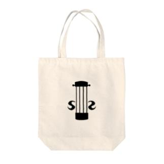 violinモチーフ Tote bags