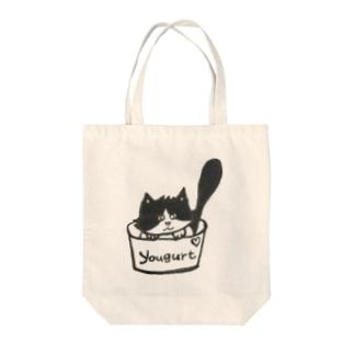 ヨーグルトひめちゃん Tote bags
