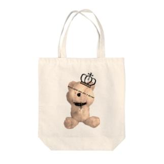Royal Teddy  Sepia Tote Bag