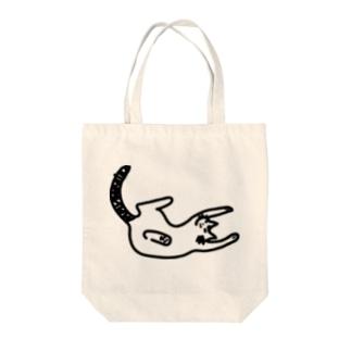 おやすみにゃんこ Tote bags